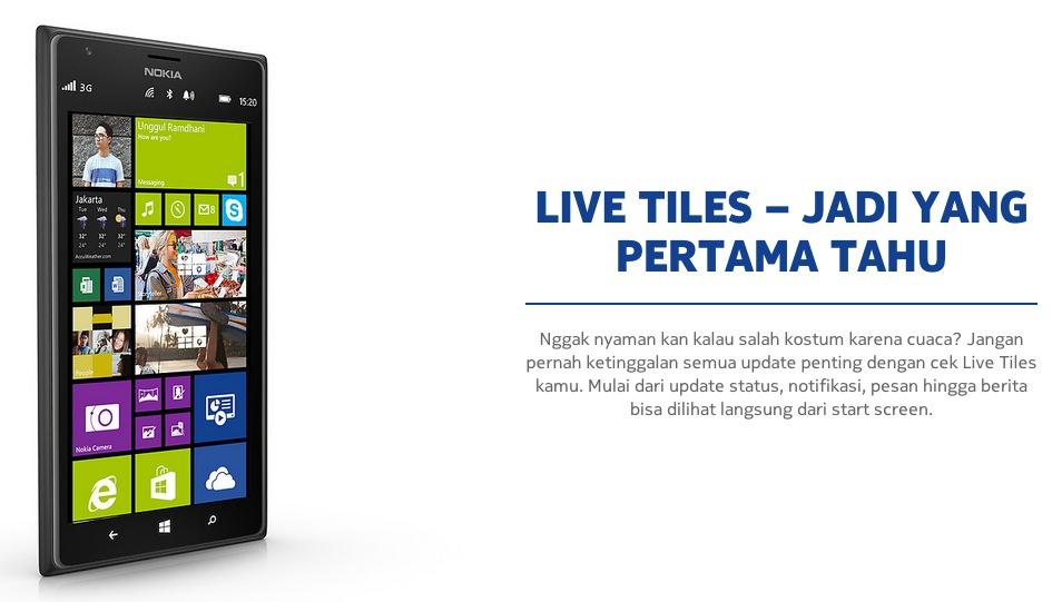 Nokia Live Tiles